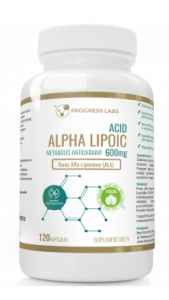 Progress Labs Alpha Lipoic Acid 600 mg Svara Kontrole