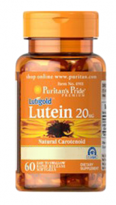 Puritan's Pride Lutein 20 mg with Zeaxanthin