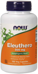Now Foods Eleuthero 500 mg