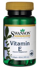 Swanson Vitamin E 180 mg