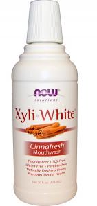 Now Foods XyliWhite Mouthwash Cinnafresh