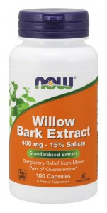Now Foods Willow Bark Extract 400 mg