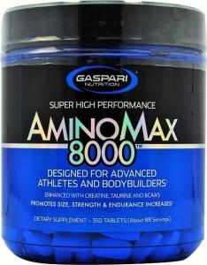 Gaspari Nutrition AminoMax 8000 BCAA Аминокислоты После Тренировки И Восстановление