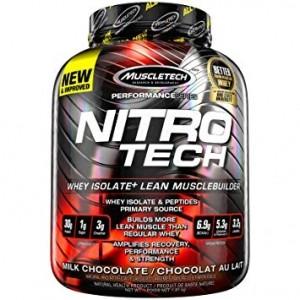 MuscleTech Nitro-Tech Proteīni Kreatīns