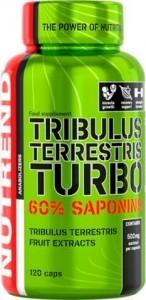 Nutrend Tribulus Terrestris Turbo Testosterona Līmeņa Atbalsts