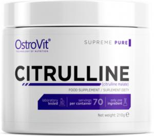 OstroVit Citrulline Slāpekļa Oksīda Pastiprinātāji L-Citrulīns Aminoskābes Pirms Treniņa Un Еnerģētiķi