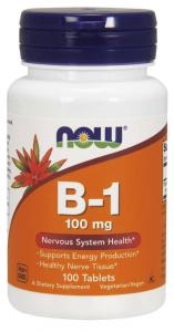 Now Foods Vitamin B-1 100 mg
