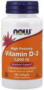 Now Foods Vitamin D-3 1000 iu