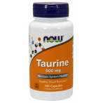 Now Foods Taurine 500 mg L-Taurine Amino Acids
