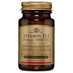 Solgar Vitamin D3 1000 IU 25 mcg