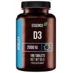 Essence Nutrition Vitamin D3 2000 IU