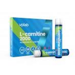 VPLab L-Carnitine 2000 25 ml x 7 gab L-Karnitīns Svara Kontrole