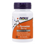 Now Foods L-Tyrosine 500 mg Amino Acids