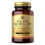 Solgar Folate 666 mcg DFE Metafolin 400 mcg