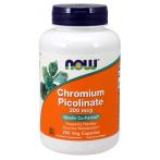Now Foods Chromium Picolinate 200 mcg Appetite Control Weight Management