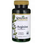 Swanson L-Arginine Усилители Оксида Азота Л-Аргинин Аминокислоты Пeред Тренировкой И Энергетики