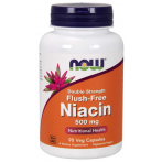 Now Foods Niacin Flush-Free 500 mg