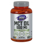 Now Foods MCT Oil 1000 mg Svara Kontrole