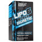 Nutrex Lipo-6 Black Diuretic Diurētiskas Udens Tabletes Svara Kontrole