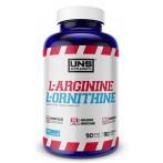 UNS L-Arginine & L-Ornithine Усилители Оксида Азота Л-Аргинин Аминокислоты Пeред Тренировкой И Энергетики