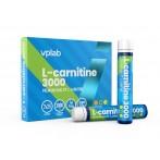 VPLab L-Carnitine 3000 25 ml x 7 gab L-Karnitīns Svara Kontrole