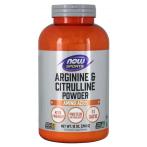 Now Foods Arginine & Citrulline Л-Аргинин L-Цитруллин Аминокислоты Пeред Тренировкой И Энергетики