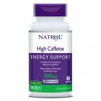 Natrol Caffeine 200 mg Kofeīns Pirms Treniņa Un Еnerģētiķi