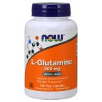 Now Foods L-Glutamine 500 mg L-Глутамин Аминокислоты