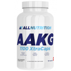 AllNutrition AAKG 1100 XtraCaps Nitric Oxide Boosters L-Arginine Amino Acids Pre Workout & Energy