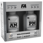 FA Nutrition Multivitamin AM + PM Formula Sporta Multivitamīni