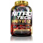 MuscleTech Nitro Tech 100% Whey Gold Proteīni