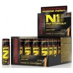 Nutrend N1 Shot Усилители Оксида Азота Предтренировочные Комплексы Пeред Тренировкой И Энергетики Напитки И Батончики
