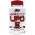 Nutrex Lipo-6 Tauku Dedzinātāji Svara Kontrole