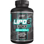 Nutrex Lipo-6 Black Hers Tauku Dedzinātāji Svara Kontrole Sievietēm
