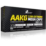 Olimp AAKG Extreme 1250 Mega Caps Slāpekļa Oksīda Pastiprinātāji L-Arginīns Aminoskābes Pirms Treniņa Un Еnerģētiķi