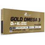 Olimp Gold Omega 3 D3 + K2 Sport Edition