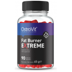 OstroVit Fat Burner Extreme Tauku Dedzinātāji Svara Kontrole