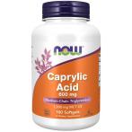 Now Foods Caprylic Acid 600 mg MCT Eļļa Svara Kontrole